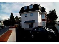 MOST BILLS INCLUDED - MODERN UNFURNISHED 1 BEDROOM GROUND FLOOR FLAT WITH PARKING IN ALUM CHINE