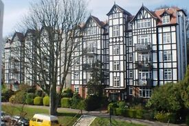 A SUPERB 1 BEDROOM MOCK TUDOR APARTMENT WITHIN A PRIVATE ESTATE
