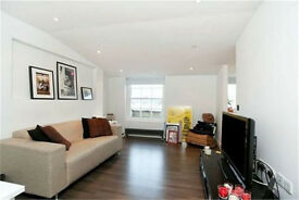 Beautiful luxury double bedroom with reception room and modern bathroom situated Angel EC1