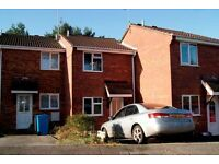 SPACIOUS UNFUNRISHED 2 DOUBLE BEDROOM TERRACED HOUSE WITH 2 PARKING SPACES IN CANFORD HEATH