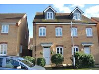 3 Bed Semi Detached Town House with Garage and Ensuite to Master Bedroom (No Agency Fees)