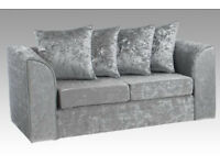 Dylan Upholstered 2 Seater Sofa - Brand New