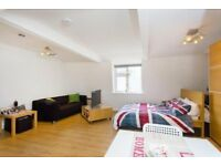 SUPERB TOP FLOOR LARGE STUDIO APARTMENT CENTRALLY PLACED FOR THE AMENITES OF CAMDEN & KENTISH TOWN