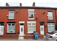 4 Bedroom House to let on Harper Street, Oldham, OL8 1BB. Fully refurbished. Must see