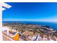 Panorama 4. Wonderful and romantic apartment Benitachell, on the Costa Blanca, Spain