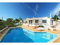 LS602. Lovely and comfortable villa for 4 persons Albufeira, on the Algarve, Portugal.