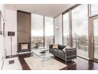Stunning 2 bedroom 2 bathroom flat on 5th floor of a newly built development in Camden