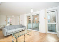 Modern, luxury and stylish two bedroomed apartment at the heart of Bow - E3 w/ private balcony.