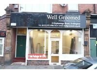 GROUND FLOOR RETAIL PREMISES ON ORPHANAGE ROAD - 1236 SQ FT LOW RENT