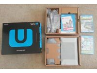 Nintendo Wii U 32GB Boxed Plus Games and More