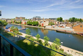 Brand new canal side one bedroom flat, with 24 hour Concierge, Gym & balcony