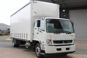 Fuso Fighter 1627 XXLWB 12 PALLET TAUT Curtainsider(FMJ25249TAUT) Rocklea Brisbane South West Preview
