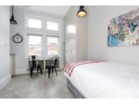 **LUXURY STUDIO - HEART OF CROUCH END - ALL BILLS INCLUDED - AVAILABLE NOW - CALL ASAP**