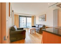 STUNNING 2 BEDROOM FURNISHED WITH BALCONY AND 24HR PORTER IN 41 MILLHARBOUR, LONDON