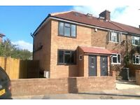 Newly renovated three bedroom end terrace house - two bathrooms and garden!