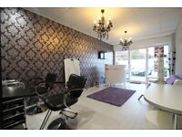 Beauty rooms to let