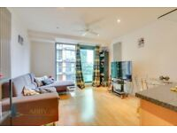 Luxury 1 bedroom flat; open floor plan; balcony with view near transports & plaza in Millharbour.
