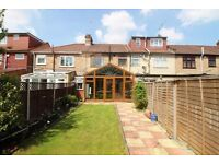 THREE BEDROOM TERRACED HOUSE AVAILABLE IN PALMERS GREEN N13 - SORRY NO DSS