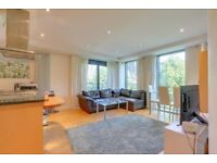 Stunning two bedroom flat with balcony,Spacious open plan lounge & 24hr porter in Millharbour,London