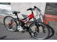 Boys 18 speed bike