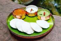 Idli  - Sambhar, Chutney / Poodi