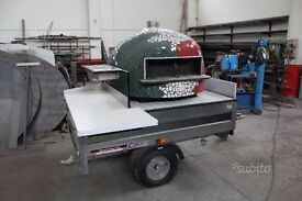 oven mounted small trailer