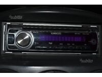 kenwood kdc-314 car stereo AUX MP3 WMA CD CD-R
