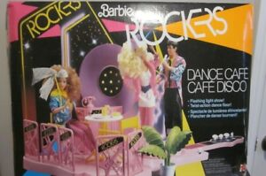 1986 Rockers Dance Café Play Set Mattel # 3080