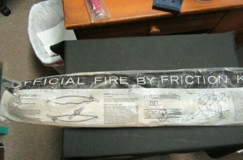 Official Boy Scout Fire By Friction Kit, 1950-60