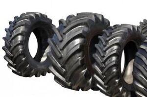 Gros pneus de tracteur ou camion recherchés