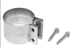 "Walker (33321) 5"" Aluminized Lap-Joint Exhaust Clamp"