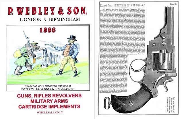 P Webley & Son 1888 Guns & Implements Wholesale Catalog