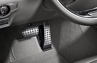 Mercedes Benz Original AMG Sportpedale Edelstahl W/V222 S Klasse 2013-2014 Neu