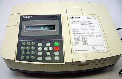 Pharmacia Biotech Ultraspec 2000 Uv Visible Spectrophotometer