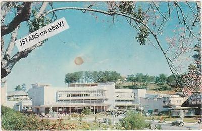 1960s DALAT, VIETNAM, DALAT MARKET BUILDING POSTCARD