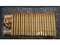Attack on Titan (Shingeki no Kyojin) manga (English) volumes 1-20 + Guidebook