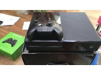 Xbox One with Fifa 16 and Advanced Warfare