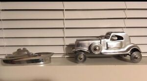 Pewter car or boat