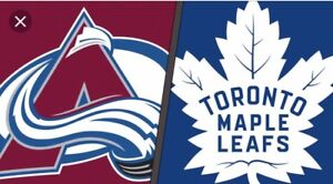 TORONTO MAPLE LEAFS COLORADO AVALANCHE MONDAY JANUARY 14 & OTHER