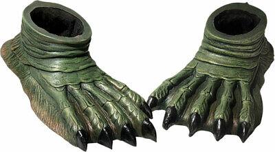 Adult Universal Monsters Sea Creature Lagoon Feet Foot Covers Costume Accessory](Sea Monster Halloween Costumes)