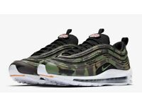 Exclusive Nike 97 Country Camo Trainers