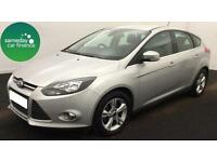 £173.08 PER MONTH SILVER 2014 FORD FOCUS 1.6 TI-VCT ZETEC 5 DOOR PETROL MANUAL