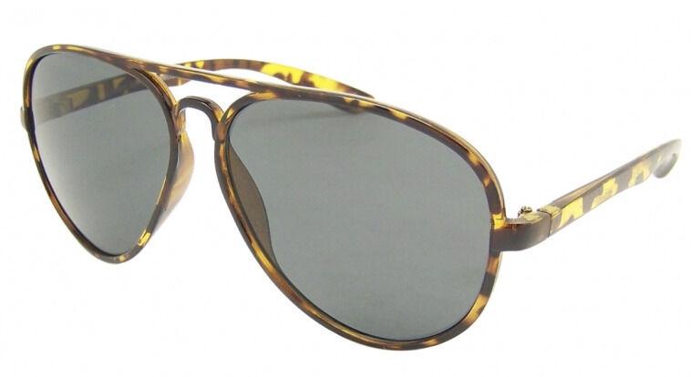 Fashion Plastic Frame PILOT Sunglasses Retro Men Womens ...