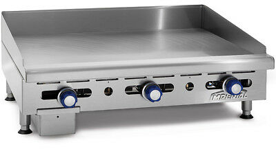 Imperial Range Imga-2428 24 Commercial Gas Griddle Manual Flat Grill 34 Plate
