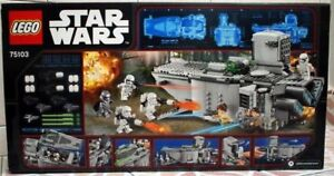 Lego Star Wars First Order Transporter Brand New