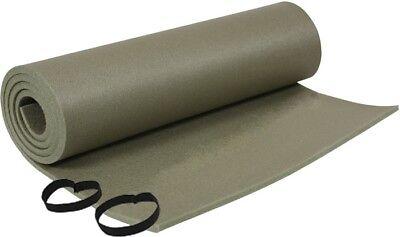 Olive Drab Army Foam Sleeping Pad Floor Mat Camping Exercise Beach Yoga ()