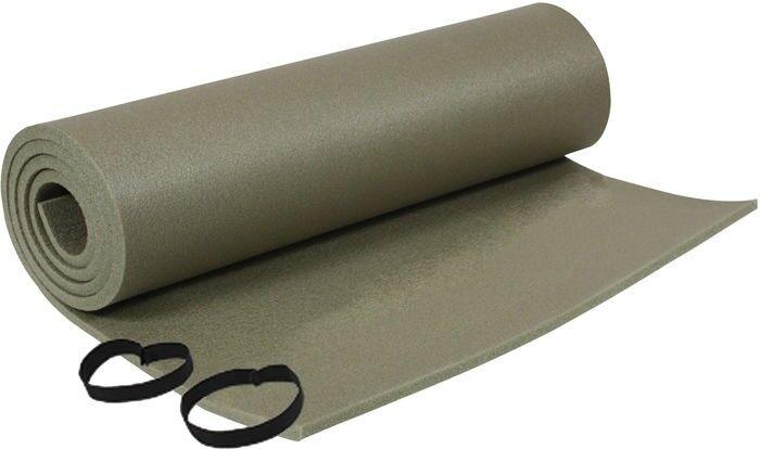 Olive Drab Army Foam Sleeping Pad Floor Mat Camping Exercise Beach Yoga
