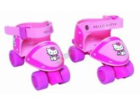 Hello Kitty beginner Skates x 2 sets (pads also available)