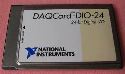 Ni Daqcard-dio-24 24-bit Digital Io National Instruments Pcmcia 1 Each