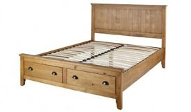 Double Bed Frame King Size (Wild Coast)